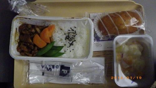 サイパン格安旅行の旅 デルタ航空 機内食