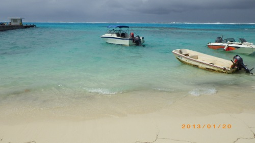 サイパン格安旅行の旅 2日目 マニャガハ島 青い海