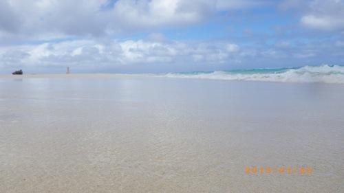 サイパン格安旅行の旅 2日目 マニャガハ島 青い海・空