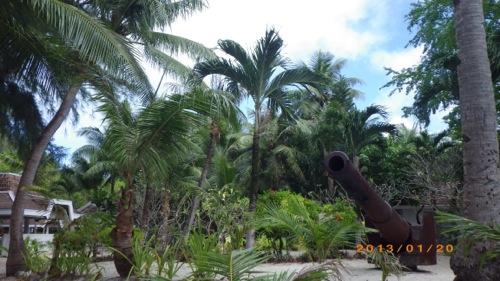 サイパン格安旅行の旅 2日目 マニャガハ島 砲台2