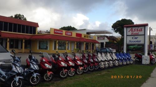 サイパン格安旅行の旅 2日目 レンタルバイク