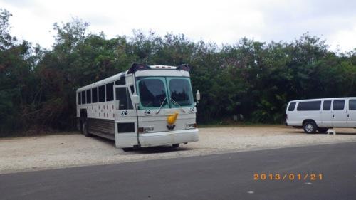 サイパン格安旅行の旅 3日目 サイパンダバス