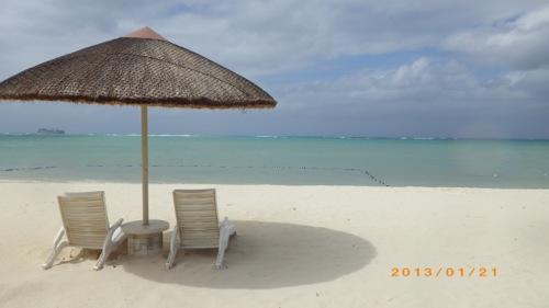 サイパン格安旅行の旅 3日目 フィエスタホテルビーチ