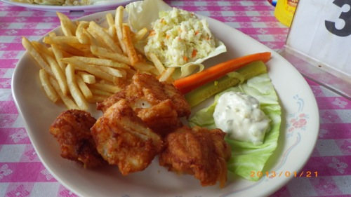 サイパン格安旅行の旅 3日目 ボビーキャディラック フィッシュ&チップス