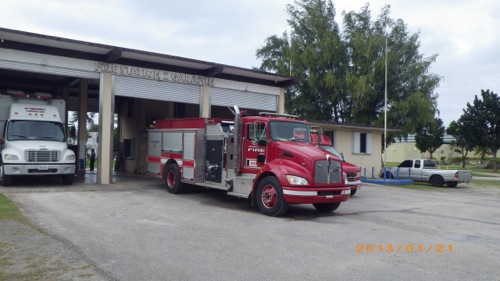 サイパン格安旅行の旅 3日目 消防署