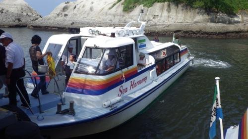 伊豆半島一周の旅 堂ヶ島 遊覧船