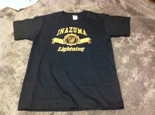 稲妻フェスティバル2011 戦利品 チャンピオン 限定Tシャツ