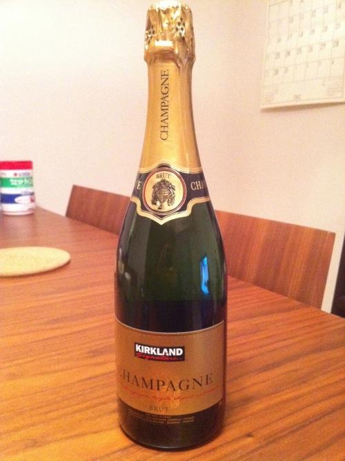 カークランドの(コストコ) シャンパン