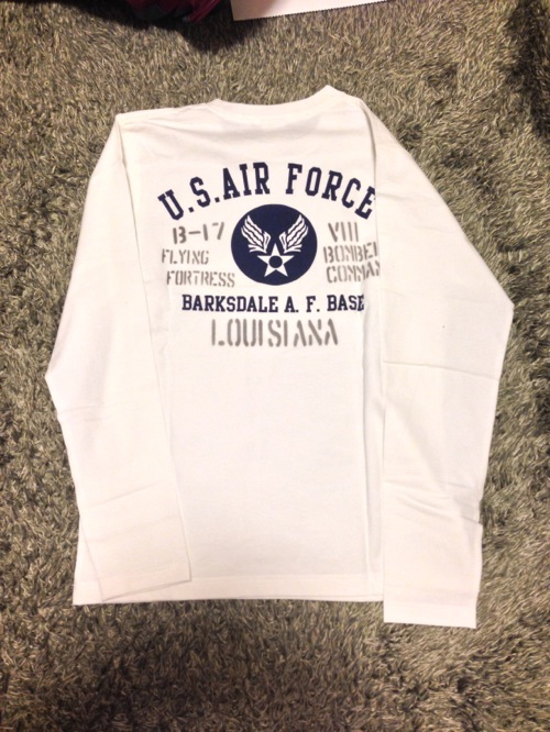 アメリカ空軍の旧マーク「U.S. Air Force」のロンT