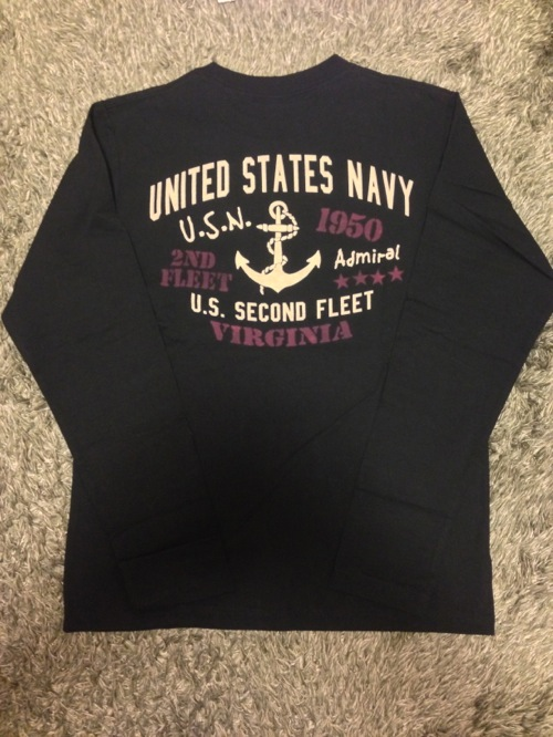 アメリカ海軍「NAVY」のロンT