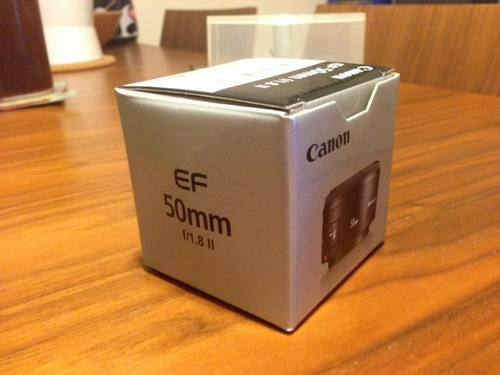 EF50mm F1.8 II(撒き餌レンズ)