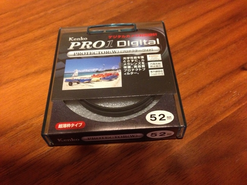 EF50mm F1.8 II(撒き餌レンズ)レンズフィルター
