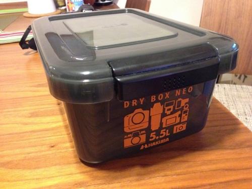 EOS 70D 防湿ボックス