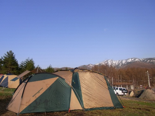 無印良品 カンパーニャ嬬恋キャンプ場 テント