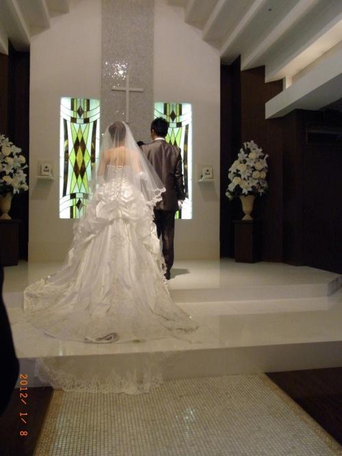 結婚式 ホテルコンチネンタル横浜 新郎新婦