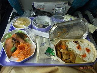スリランカ航空機内食コロンボ